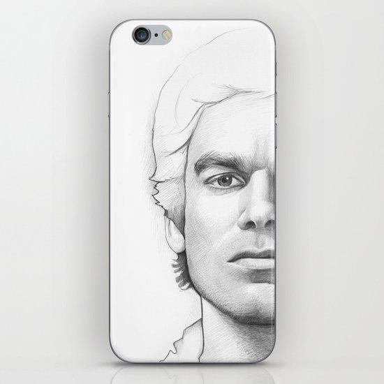 Dexter Morgan Portrait iPhone & iPod Skin