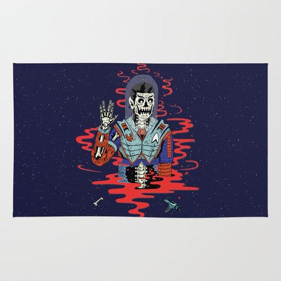 Dead Spock Area & Throw Rug