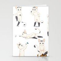 Thorodrin Cat Stationery Cards