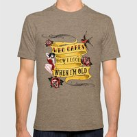 Tattoo Mens Fitted Tee Tri-Coffee SMALL
