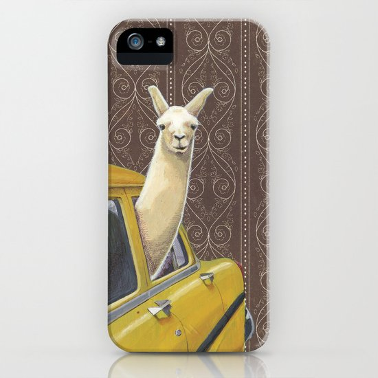 Taxi Llama iPhone & iPod Case