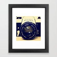 Pentax Framed Art Print