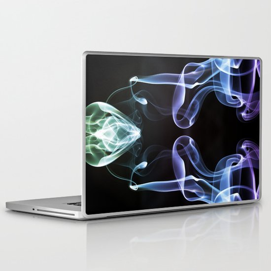 Smoke Photography #7 Laptop & iPad Skin