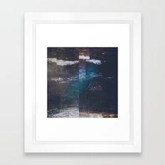 Fractions A34 Framed Art Print