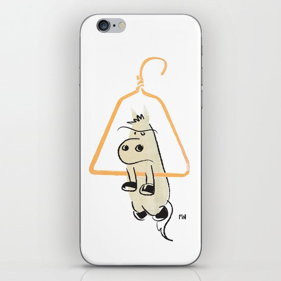 Hung Like a Horse iPhone & iPod Skin