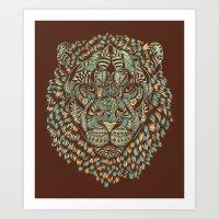 Lion (Royal) Art Print