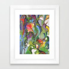 Rhapsody -detail Framed Art Print