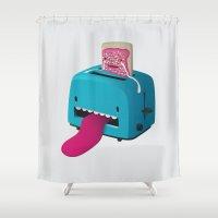 Pop Tart Shower Curtain