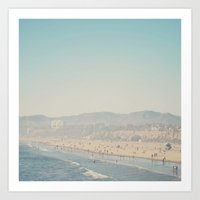 Santa Monica, California Art Print
