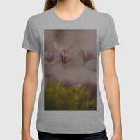 Hidden Beauty Womens Fitted Tee Athletic Grey SMALL