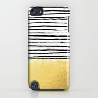 Blaire - Brushed Gold St… iPod touch Slim Case