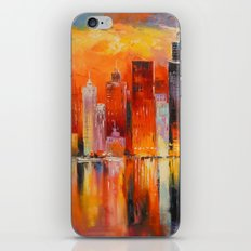 Evening new York iPhone & iPod Skin