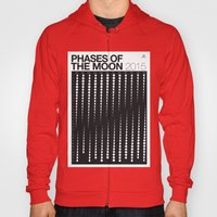 2015 Phases of the Moon Calendar Hoody