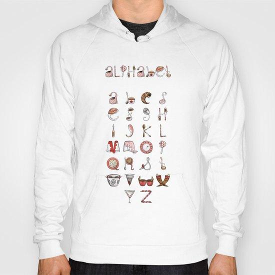 Spills & Spoons Alphabet Hoody