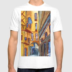 Barri Gòtic Mens Fitted Tee White SMALL