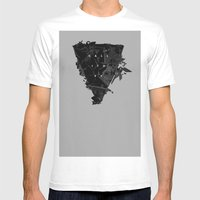 Call It Off Mens Fitted Tee White SMALL