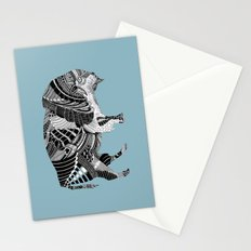 BLUE BISONTE-. Stationery Cards