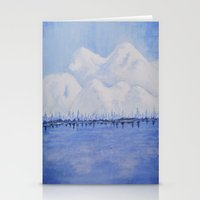 Alaskan Mountains Stationery Cards