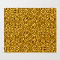 Luxury Red And Gold Foil… Canvas Print