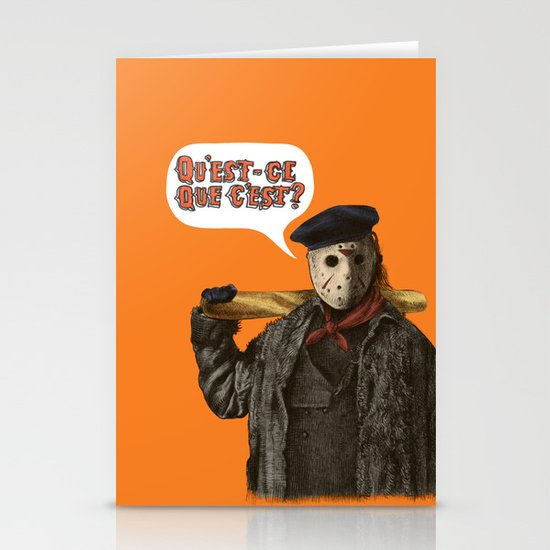 Psycho Killer Stationery Card
