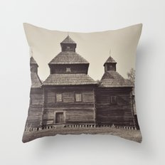 Russian Church Throw Pillow