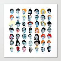 Heads 02 Canvas Print