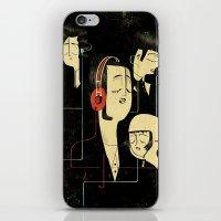 乐 Music Lovers iPhone & iPod Skin