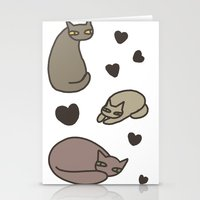 cat1 Stationery Cards