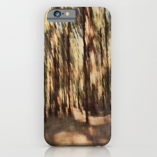 woodland abstract iPhone & iPod Case