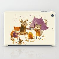 Critters: Fall Camping iPad Case