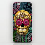 Sugar Skull Paisley Gard… iPhone & iPod Skin