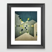 Shape_01 Framed Art Print