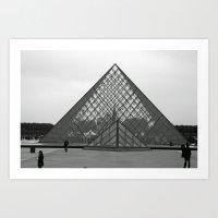 Musée Du Louvre II Art Print