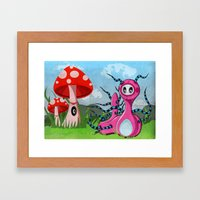 Kate'rpillar Framed Art Print