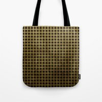 Royal Black - Textured P… Tote Bag