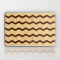 Wooden Chevron Laptop & iPad Skin