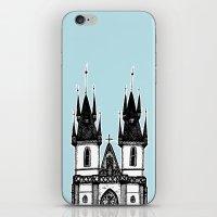 Tyn Church - Prague iPhone & iPod Skin