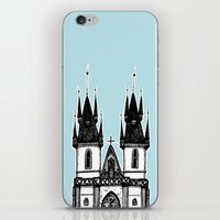 Tyn Church - Prague iPhone & iPod Skin
