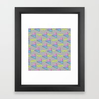 Fun Pattern Framed Art Print