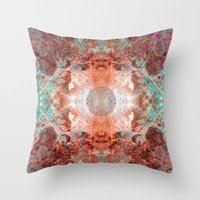 Ceremony Of The Mantras Throw Pillow