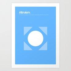 Altruism Art Print