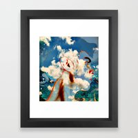 The Abstracted Man Framed Art Print