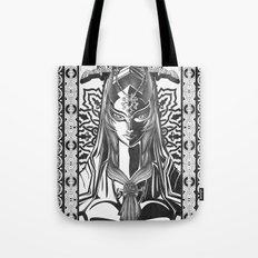Legend of Zelda Midna the Twilight Princess Line Work Tote Bag