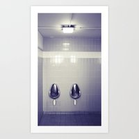 Duchamp's Muse... Art Print