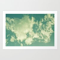 Clouds 024 Art Print