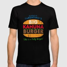 Big Kahuna Burger SMALL Mens Fitted Tee Black