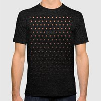 I'm a geek and I love polka dots Mens Fitted Tee Tri-Black SMALL