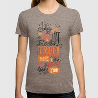 TODAY YOU ARE YOU... - D… Womens Fitted Tee Tri-Coffee SMALL