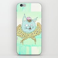 PIZZACAT I iPhone & iPod Skin