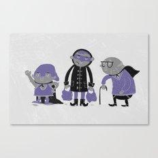 Superheroes! Canvas Print